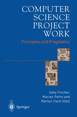 computerscience project computer science project work principles and pragmatics sally