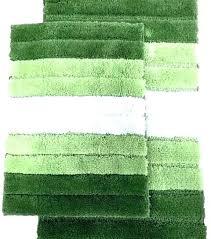 green bathroom rugs dark