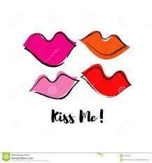Wallpaper Lips Design Seamless Pattern With Lips Pop Art Style Cloth Design