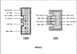 1993 ford f150 wiring diagram 2000 ford f150 audio wiring diagram radio schematics and diagrams