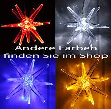 Land Haus Shop Led Weihnachtsstern Batteriebetrieben Licht Weihnachts Deko Fenster Led Stern Acryl Weiß