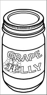 grape jelly clipart. Brilliant Clipart Clip Art Grape Jelly Bu0026W I Abcteachcom  Preview 1 And Clipart