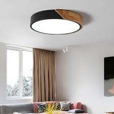Bedroom Ceiling Lights Details About Modern Ceiling Light Fixture Bedroom Led Drum Shapedflush Mount Ceiling Lamp Us