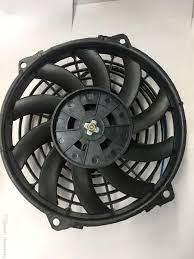 Satın Al Yüksek Performanslı Araç Klima Otomobil Parçaları Fan Motoru Oto  Üfleyici Fan 10inch 12v AC Kondansatör Soğutma Fanı, TL227.27