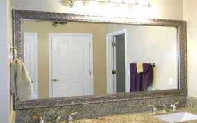 large mirrors for bathroom. Pleasant Framed Mirrors Bathroom Large And Gold Rustic Ideas For Bathrooms Gallery White Mirror Square Carved Silver Plus Lights Also H