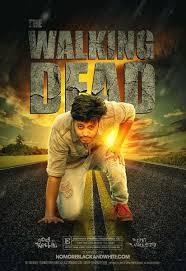 Poster Psd Design The Walking Dead Movie Poster Design In Photoshop On Behance