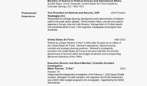 Targeted Resume Template Cool Air Force Targeted Resume Templates Targeted Resume Template