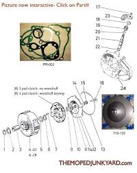 puch transmission parts 1 2 speed 6 subcategories diagram reference p10a puch 1 speed parts