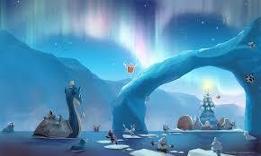 christmas winter backgrounds for desktop. Contemporary Christmas Arctic Christmas Desktop Background To Winter Backgrounds For S
