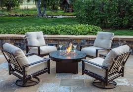 Nice Decoration Patio Furniture Fire Pit Table Set Winsome Design
