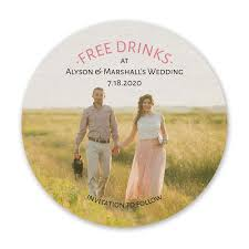 Save The Date Images Free Free Drinks Save The Date Coaster Invitations By Dawn