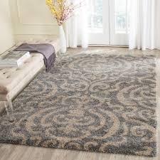 safavieh florida gray beige 9 ft x 12 ft area rug