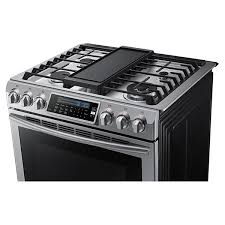 gas range with griddle. Unique With Ft SlideIn Self Clean Convection Gas Range With Griddle Throughout F