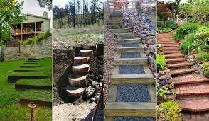 the best 23 diy ideas to make garden stairs and steps amazing