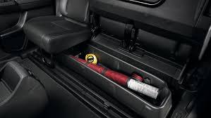 2019 honda ridgeline rear seat storage