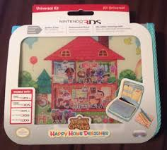 3ds Xl Happy Home Designer Bundle Details About Animal Crossing Hard Case Protective Cover For
