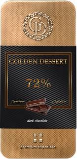<b>Шоколад Golden Dessert горький</b> 72%, 100г, цена - купить в Москве