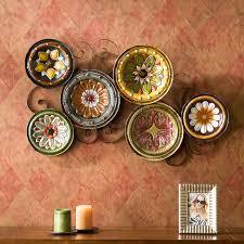 on italian wall art decor with southern enterprises milan italian plates wall art walmart