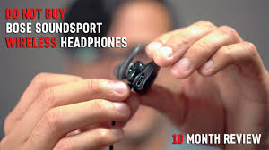 bose soundsport free. why you shouldn\u0027t buy bose soundsport wireless headphones: 10 month review free s