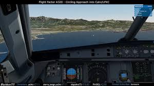 Ff320 Circling Approach Calvi Lfkc Runway 36