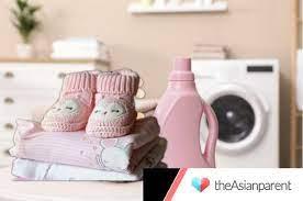 Đồ trẻ sơ sinh có nên giặt máy? Giặt máy có khiến con vặn mình khó ngủ