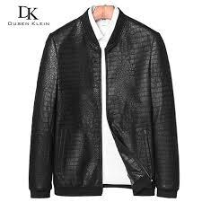 2019 brand leather jackets formen genuine sheepskin coats crocodile pattern dusen fashion leather men coat and jacket j1718 from saltblue 202 86 dhgate