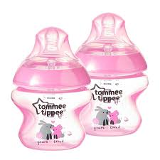 Tommee Tippee Pink Decorated Bottles Amazon Tommee Tippee Closer to Nature Decorated Bottle Pink 6