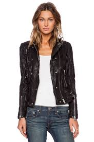moto leather jacket anine bing