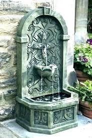 wall mounted fountain wall mounted water fountain wall mounted fountains outdoor solar wall wall mounted water
