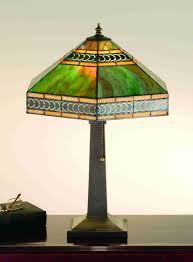 art deco stained glass lamp shades better lamps within the most