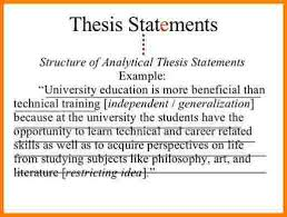 thesis statement essay example case statement  9 thesis statement essay example