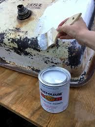 Sink Enamel Paint Bryarton Farm Antique Farm Sink Makeover Tips For Restoring An