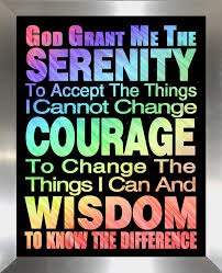 serenity prayer view larger on large serenity prayer wall art with serenity prayer framed canvas art