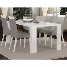 white laquer furniture.  White Athome USA  Elegance Diamond Dining Table And Extension In White Lacquer  Finish EDDWHTA10_ELDWHTA12 And White Laquer Furniture