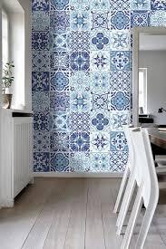 bathroom and kitchen tile. portuguese blue - tile stickers decals kitchen backsplash tiles for -. bathroom and a