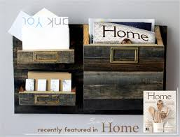 wall organizers home office. Hanging Wall Organizer Large Size Rustic Mail 3 Bin Organizers Home Office M