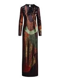 Tom Ford Size Chart Tom Ford Multicoloured Glitter Gown