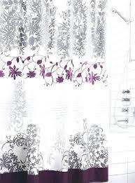 shower curtains purple gray