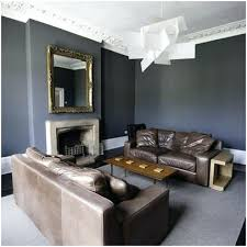 gray wall brown furniture. Gray Walls With Brown Furniture Grey Living Room A Inviting Leather Sofa W . Wall F