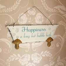 small wall plaques amazing happiness is hanging bathroom wall plaque vintage bathroom plaques wall decor plan small ceramic wall plaques small decorative