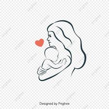 母子母子イラストレーター 母子の絵画は絵はがきを挿し込んで イラスト