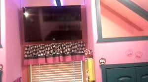 Monster High Bedroom Decorations Monster High Bedroom Most Awesome Youtube