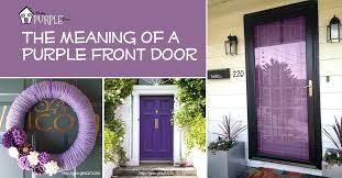 exterior door shutters barn purple front meaning