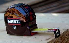 best tape measure. hart 25\u2032 tape measure with blade brake best 0
