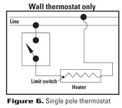 choose the right thermostat thermostat selection guide cadet heat Double Pole Thermostat Wiring Diagram a wiring diagram illustrating typical wiring of the thermostat is included in literature provided with the thermostat, and on a simple diagram provided on wiring diagram for double pole thermostat