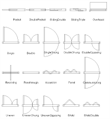 Download the Style drawing. Door Types include;