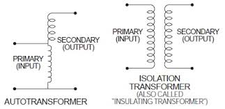 a buck boost transformer is suitable for connecting as an autotransformer vs isolation transformer