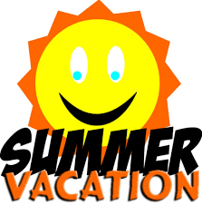 summer vacation clipart my summer vacation clipart