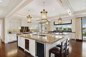 luxury kitchen lighting. Bright White With Lots Of Windows (and Some The Coolest Pendant Lights I\u0027ve Seen) Luxury Kitchen Lighting N