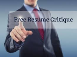 free resume review free resume critique jobstars